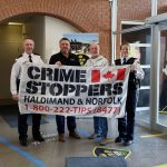 Crime Stoppers Month Flag Raising