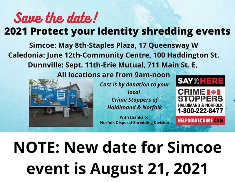 Shredding Event Update